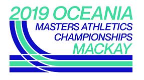 2019 Oceania Masters Mackay logo