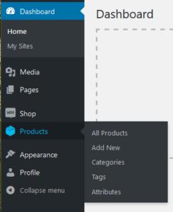 Product menu image