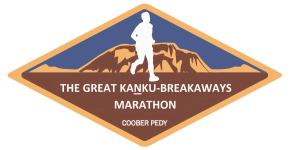 The Great Kaṉku-Breakaways Marathon and Fun Run 2021 logo